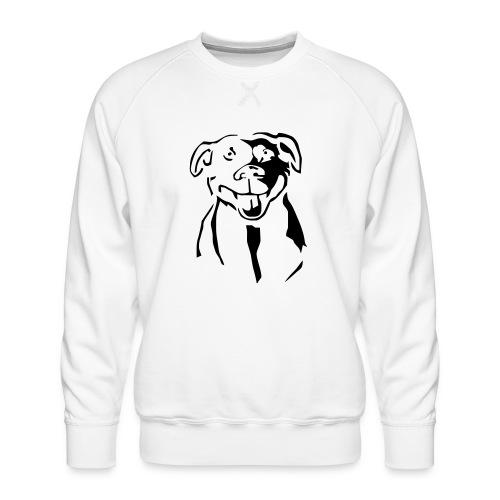 Staffordshire Bull Terrier - Miesten premium-collegepaita
