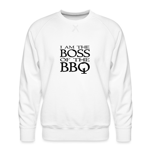 I am the Boss of the BBQ - der Chef am Grill - Männer Premium Pullover