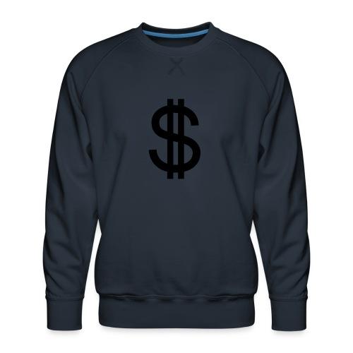 Dollar - Sudadera premium para hombre