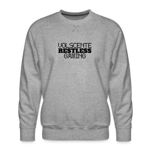 Volscente Restless Logo B - Felpa premium da uomo