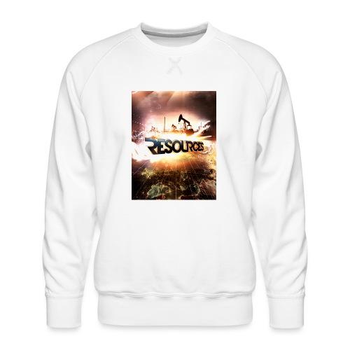 RESOURCES Splash Screen - Männer Premium Pullover
