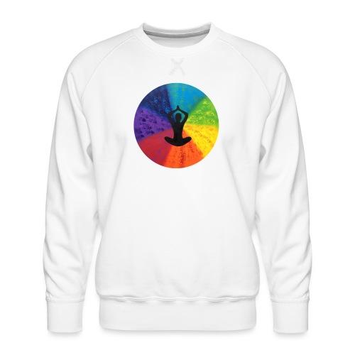 Kraftbild die Mitte - Männer Premium Pullover