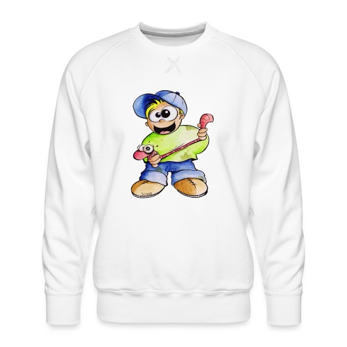 Elastizitätstest - Männer Premium Pullover