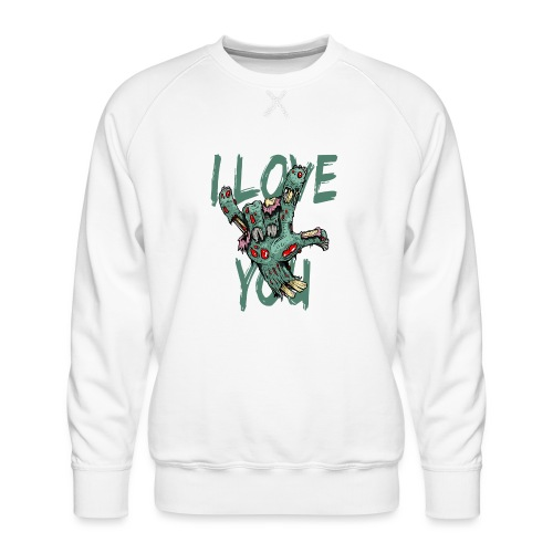 ILY Zombie - Männer Premium Pullover