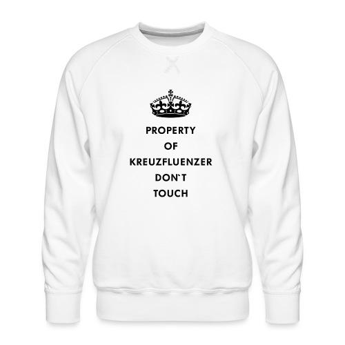 Kreuzfluenzer Don´t Touch Black - Männer Premium Pullover
