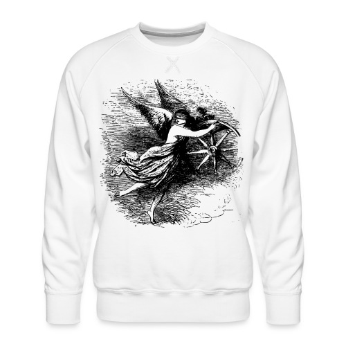 Angel at the helm - Men's Premium Sweatshirt