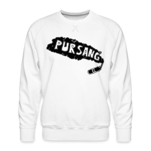 PUR SANG (Black) - Mannen premium sweater