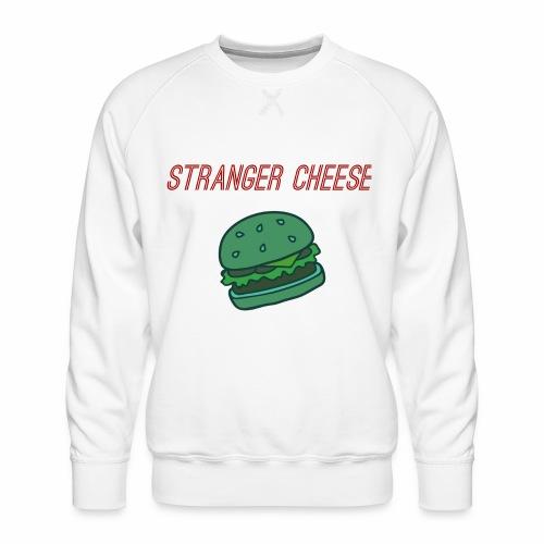 Stranger Cheese - Sweat ras-du-cou Premium Homme