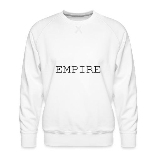 EMPIRE - Felpa premium da uomo