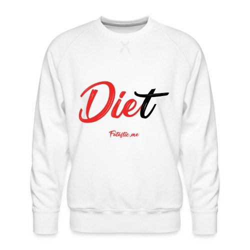 Diet by Fatastic.me - Men's Premium Sweatshirt