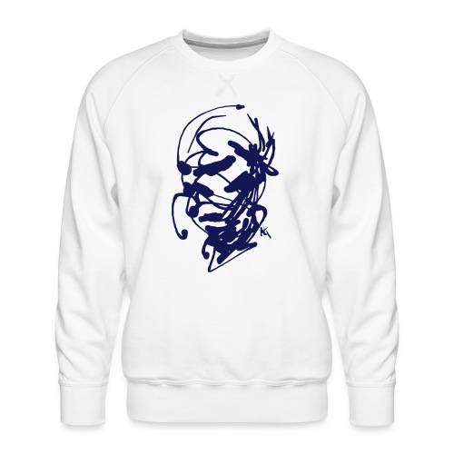 face - Men's Premium Sweatshirt