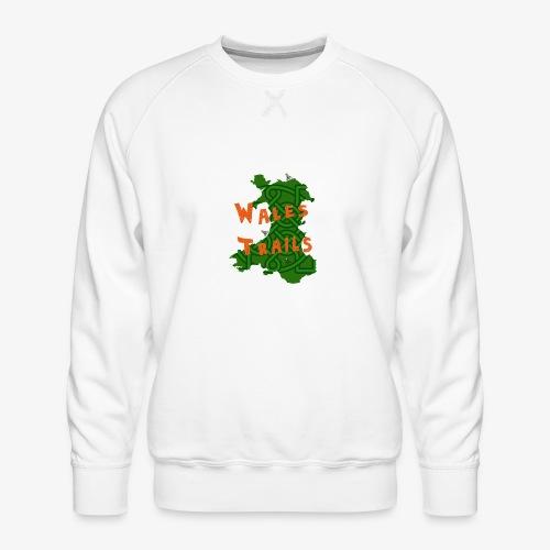 Wales Trails - Men's Premium Sweatshirt