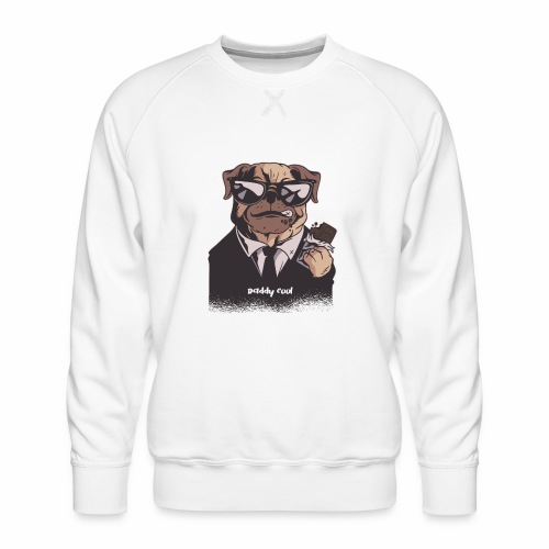 Daddy Cool Mops - Männer Premium Pullover