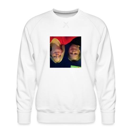 Gammelt logo - Herre premium sweatshirt