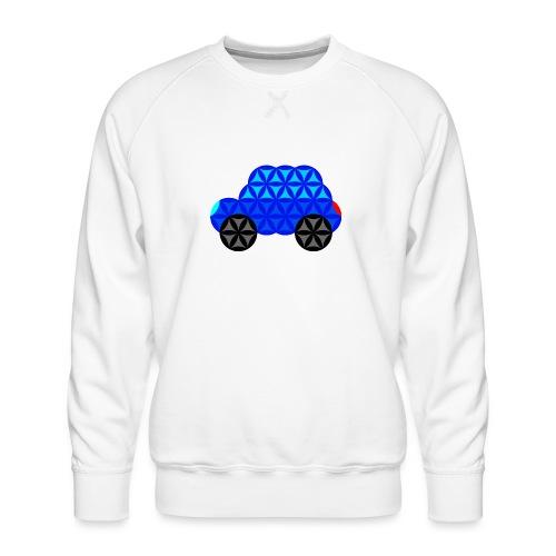 The Car Of Life - M01, Sacred Shapes, Blue/R01. - Men's Premium Sweatshirt