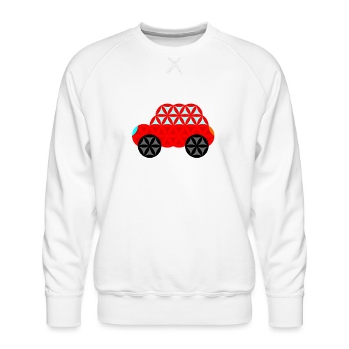 The Car Of Life - M01, Sacred Shapes, Red/R01. - Men's Premium Sweatshirt