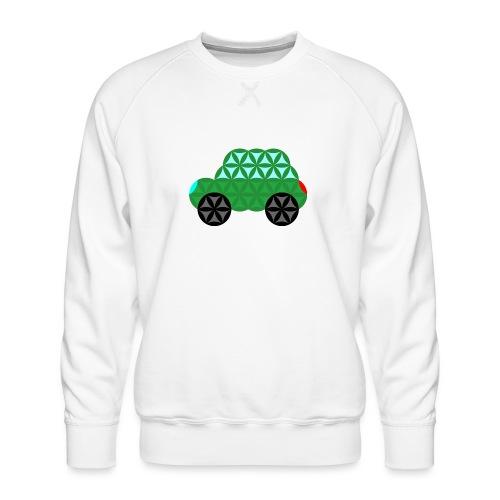 The Car Of Life - M02, Sacred Shapes, Green/363 - Men's Premium Sweatshirt