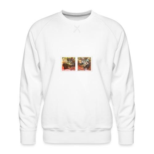 Design Himmlische Saiten - Geige spielen lernen - Männer Premium Pullover
