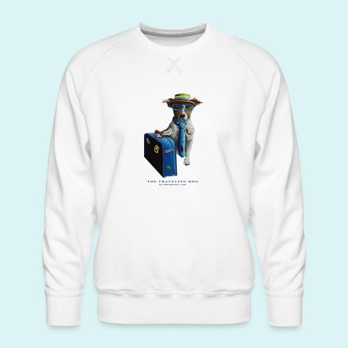 The Traveling Dog - Men's Premium Sweatshirt