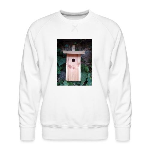 Der Nistkasten - Luxus für den Garten-Vogel - Männer Premium Pullover