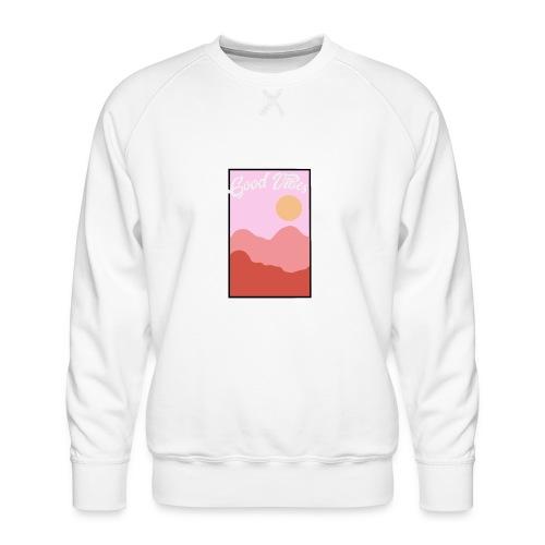 Good vibes - Mannen premium sweater