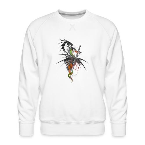 Dragon Sword - Drachenkampf - Männer Premium Pullover