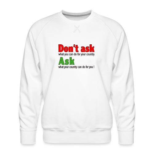 Text 026 - Männer Premium Pullover