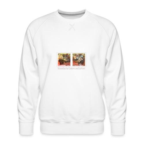 Design Himmlische Saiten aufziehen - Geige spielen - Männer Premium Pullover