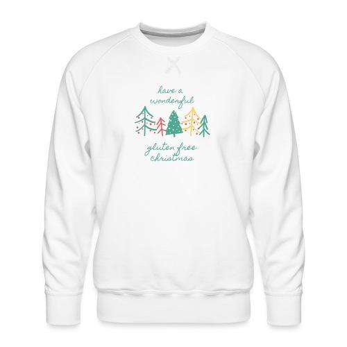 Gluten free christmas - Männer Premium Pullover