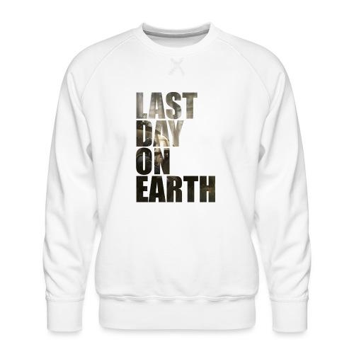 Último día en la tierra - Sudadera premium para hombre