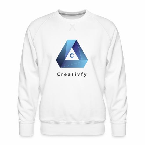 creativfy - Männer Premium Pullover