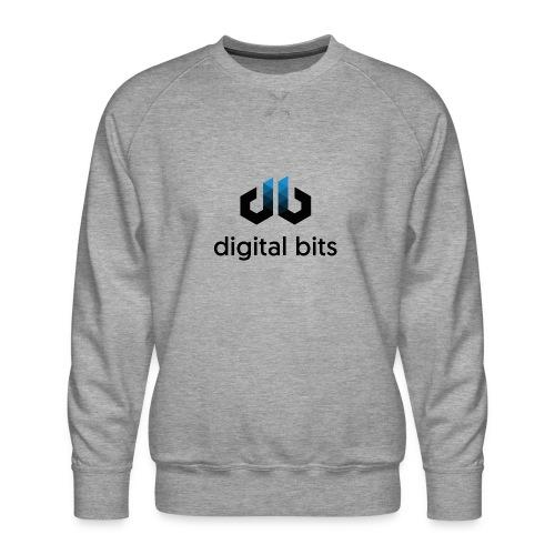 digitalbits Logo mit Schriftzug - Männer Premium Pullover