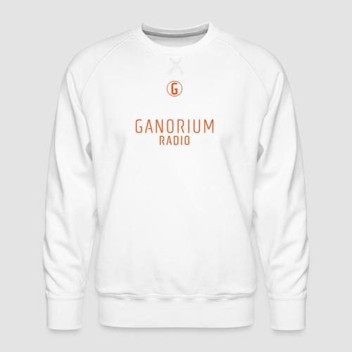 GANORIUM Orange - Men's Premium Sweatshirt