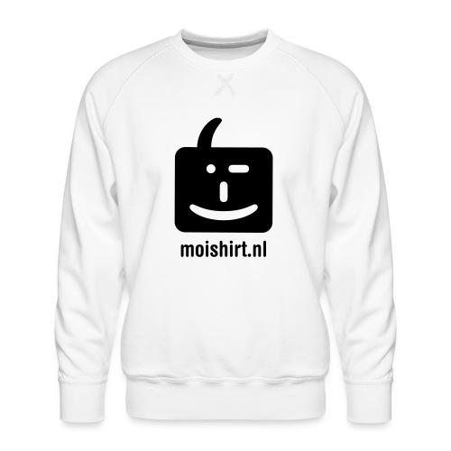 moi shirt back - Mannen premium sweater