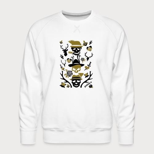 alpen skull - Männer Premium Pullover