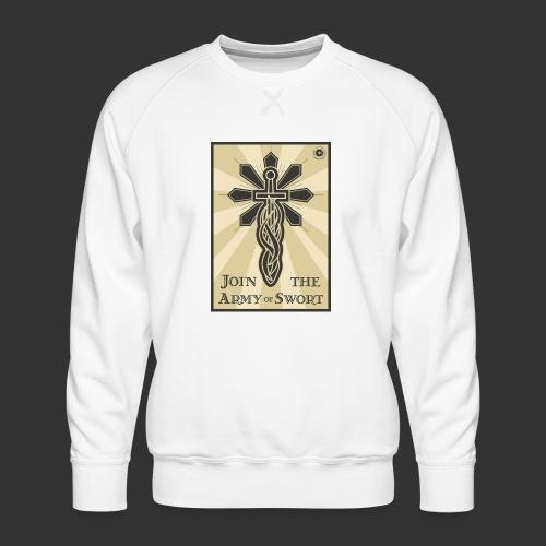 Join the army jpg - Men's Premium Sweatshirt