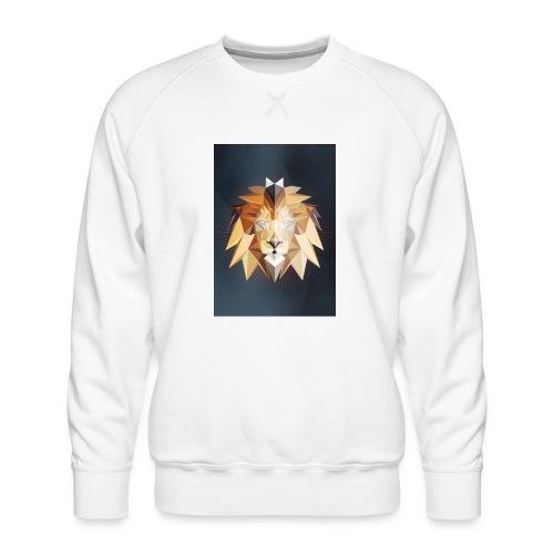 Polygon Lion - Männer Premium Pullover
