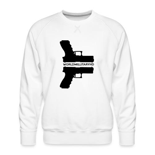 WorldMilitaryHD Glock design (black) - Mannen premium sweater
