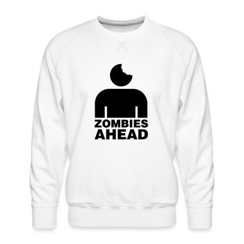 Zombies Ahead - Premiumtröja herr