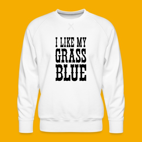 bluegrass - Mannen premium sweater