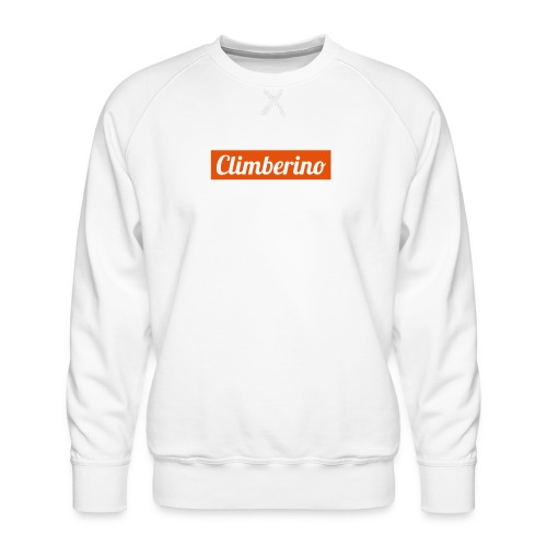 Just Climberino - Extreme White Edition - Männer Premium Pullover