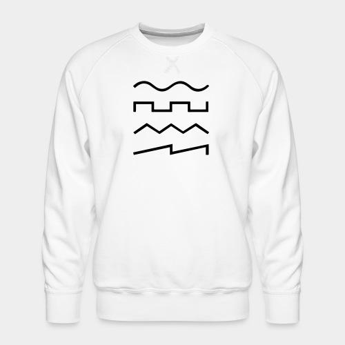 SIN - SQR - TRI - SAW - Männer Premium Pullover