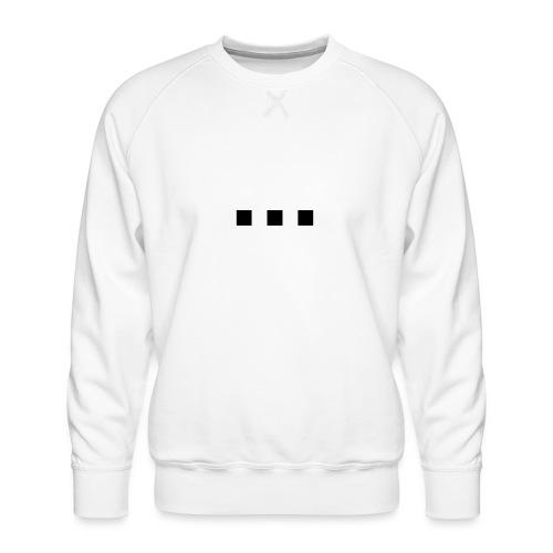 punt dot - Men's Premium Sweatshirt
