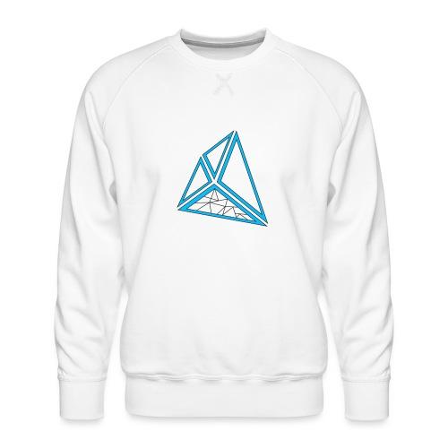 triangoli schematici - Felpa premium da uomo