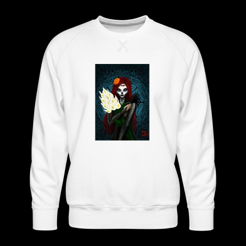 Death and lillies - Men's Premium Sweatshirt
