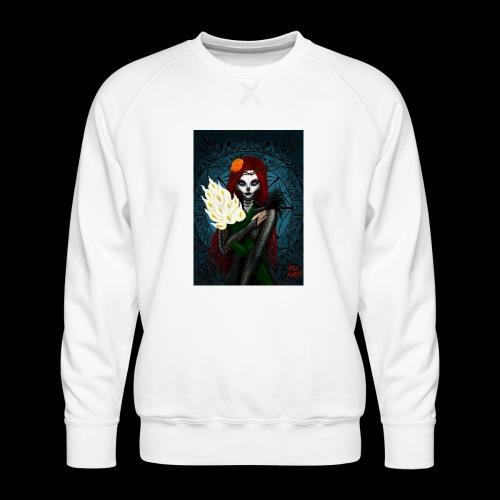 Death and lillies - Men's Premium Sweatshirt