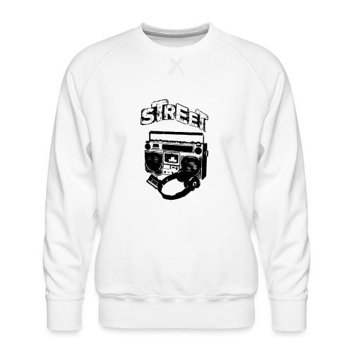 street 1 - Herre premium sweatshirt