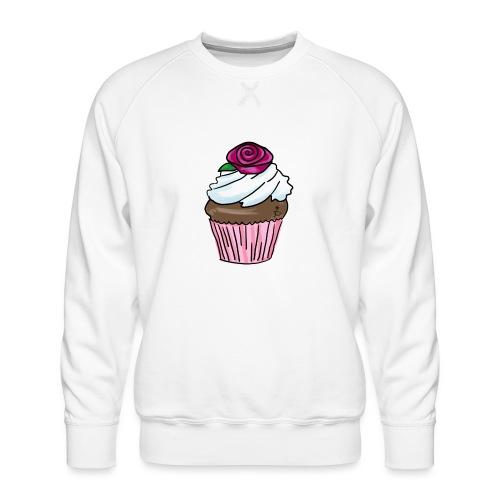 Lekkere cupcake om te genieten - Men's Premium Sweatshirt