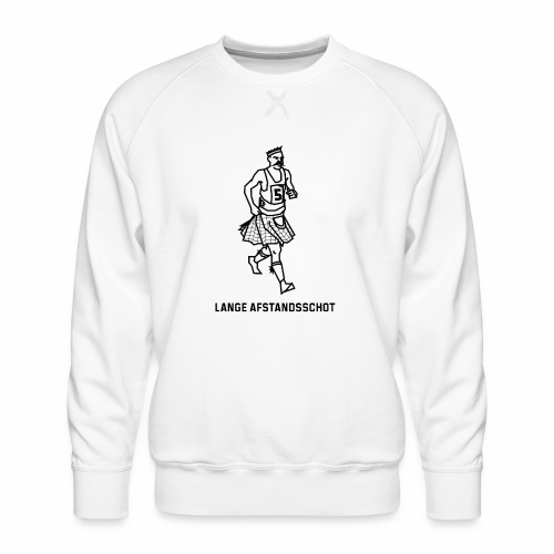 Lange Afstandsschot - Mannen premium sweater