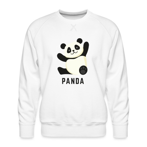 Schattige Panda - Mannen premium sweater